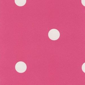 Самоклейка PATIFIX Горошек белый на розовом