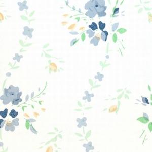 Самоклейка PATIFIX Цветочная волна голубая