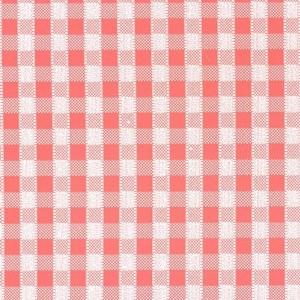 Самоклейка PATIFIX Клетка мелкая, красно-белая