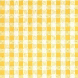 Самоклейка PATIFIX Клетка мелкая, желто-белая