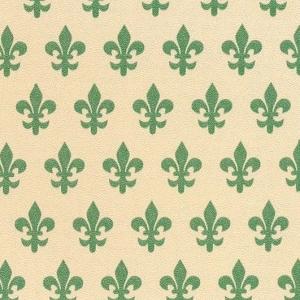 Самоклейка PATIFIX Флорентийская лилия зеленая на беж.