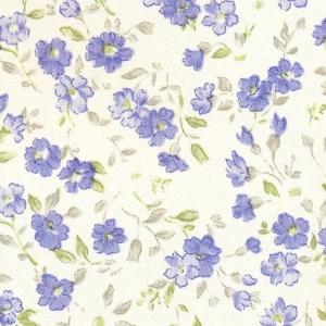 Самоклейка PATIFIX Цветы сине-голубые