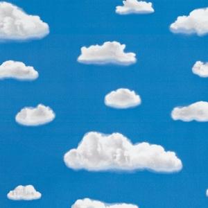 Самоклейка D-C-FIX цв.витражная облака