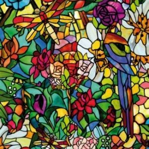 D-C-FIX 200-3231 (2003231) «Цветы» Самоклейкка витражная на стекло с рисунком