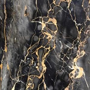 PATIFIX 13-4110 «Мрамор Черный с Золотыми прожилками» Самоклеющаяся пленка для кухни и ванной под мрамор
